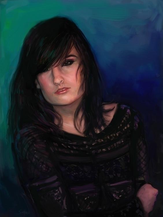 Alex Digital Oil Painting ArtRa - artofsedas | ello