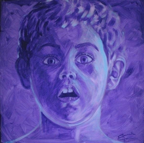 WOW, acrylic canvas 120x120 cm  - tizianagiammetta   ello