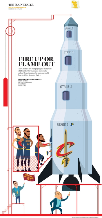 Cavaliers 2017 Playoffs. light  - cmorris   ello