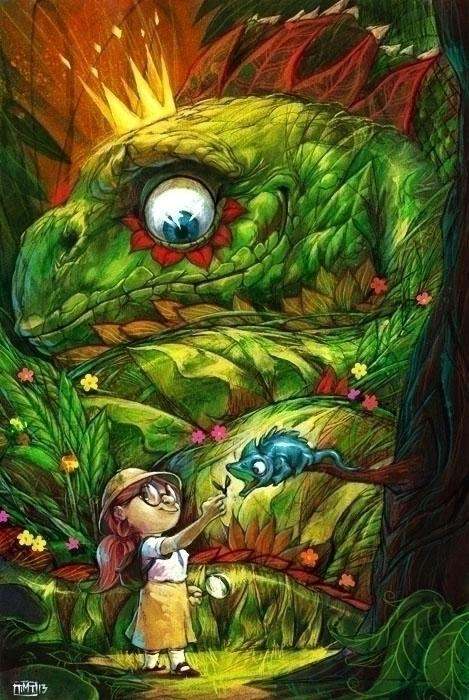 commissioned illustration. Liza - arcade28 | ello