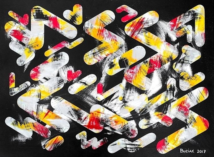 Night Shift artwork, art paper  - edbuzz | ello
