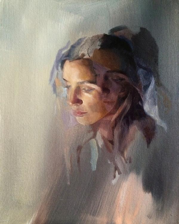 Miro // 40x50 Oil canvas - painting - rico-3166 | ello