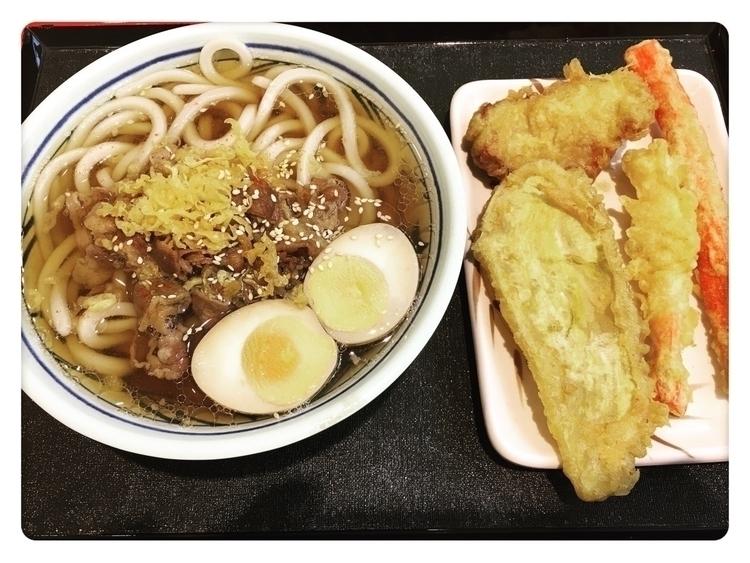 好飽貴的一碗麵!!in嘉義新光三越-丸龜製麵 - danny6301 | ello