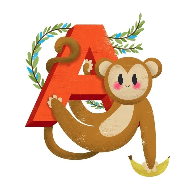 Affe (germ. Monkey) Personal On - johannaspringer | ello