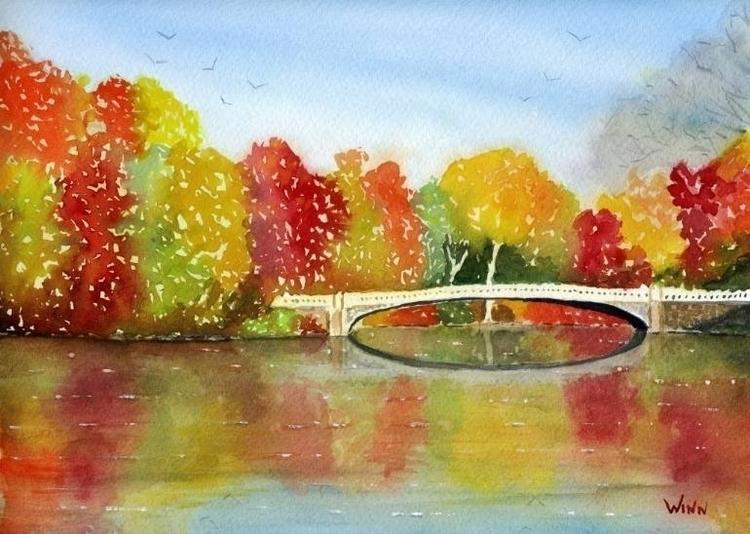 Titled: Central Park impression - brettwinn | ello