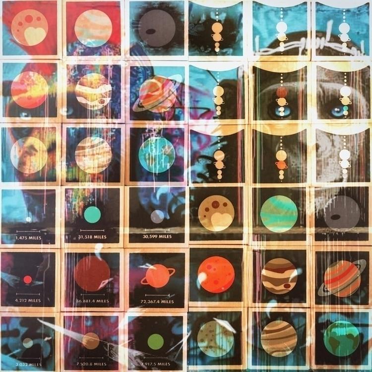 Planets Ape - planets, solarsystem - montymckeever | ello