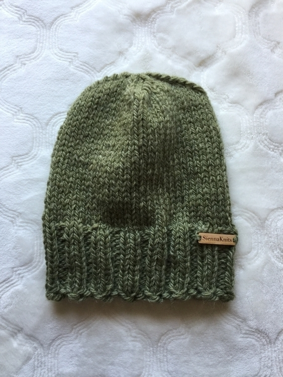 simple knit alpaca wool beanie - siennaknits | ello