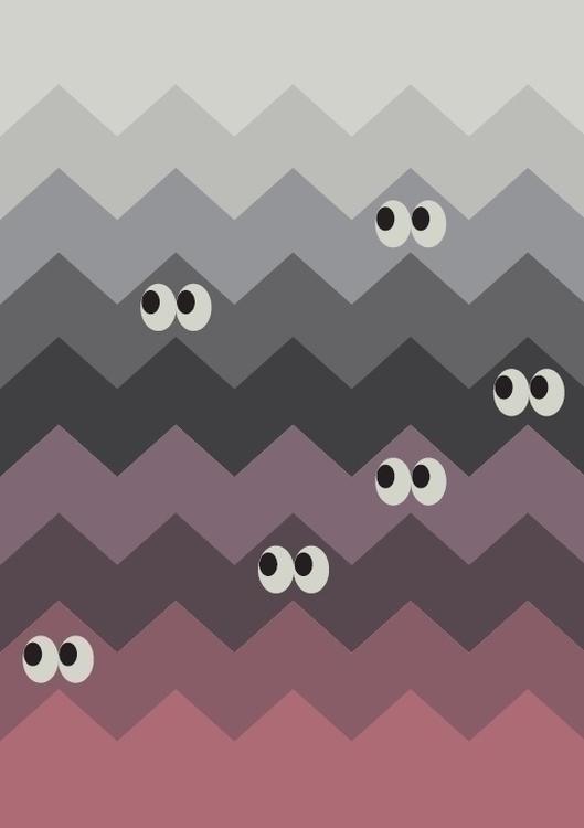 poster high quality wall - eyes - bartekh | ello