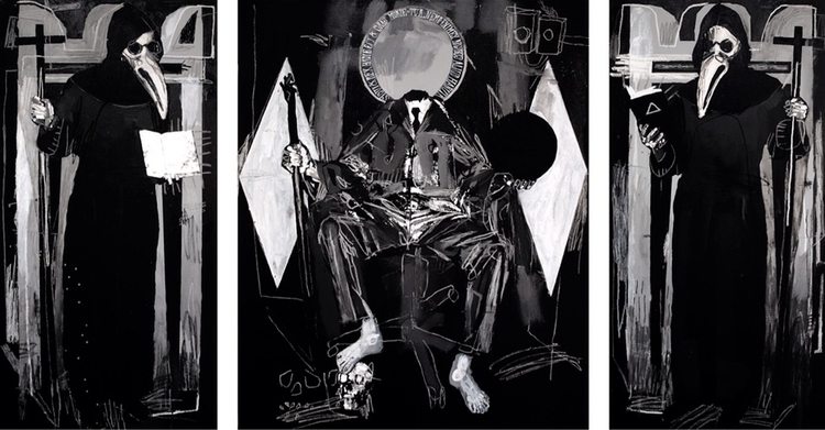 making large triptychs buy time - carpmatthew | ello
