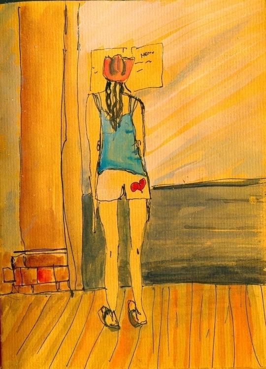 illustration Notebook - summertime - palahoyos | ello