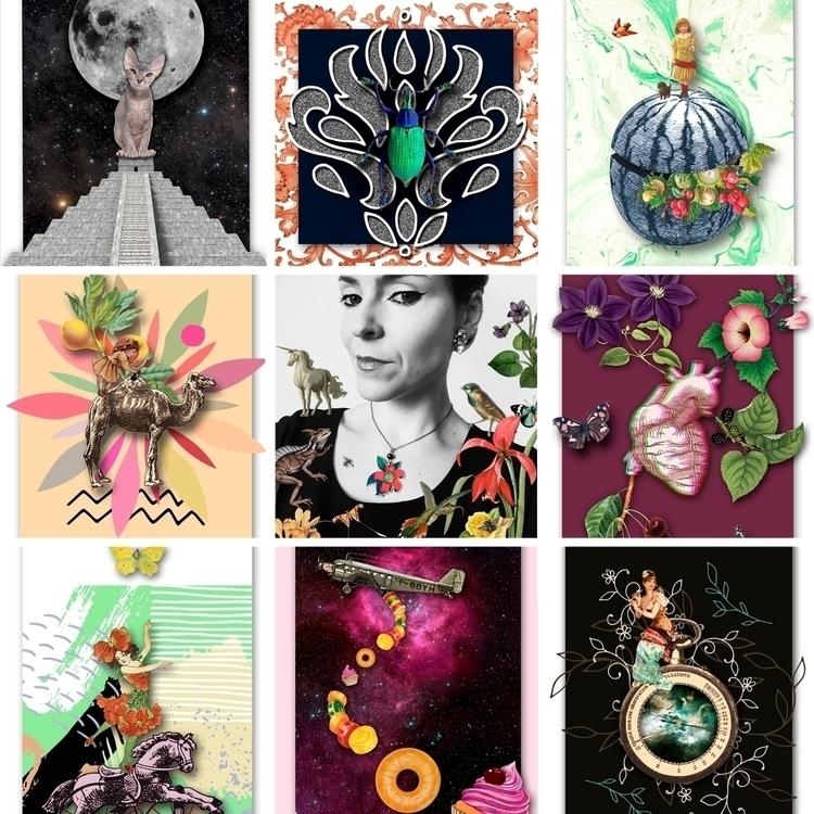 collageart, artist, collagist - gloriasanchez   ello
