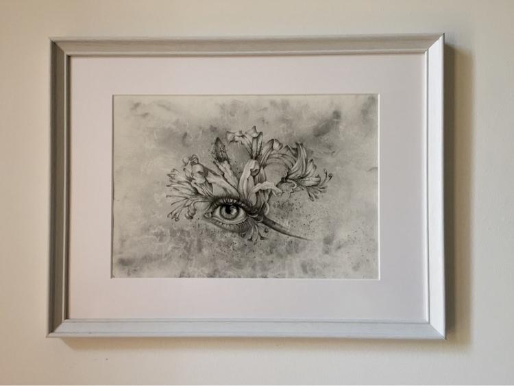 frame - art, drawing#illustration - laurapedrettiart | ello