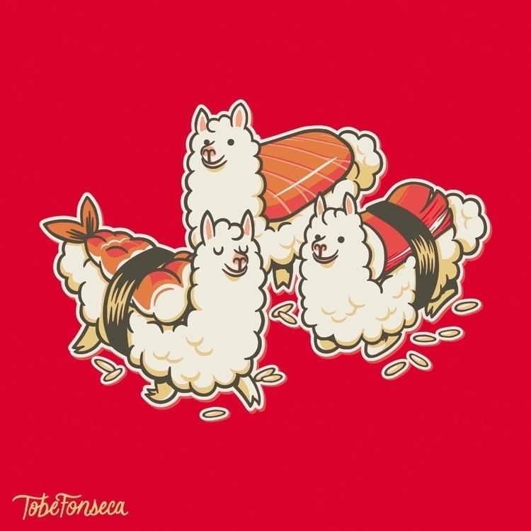 Alpaca Sushi Niguiri / Tobiasfo - tobefonseca | ello