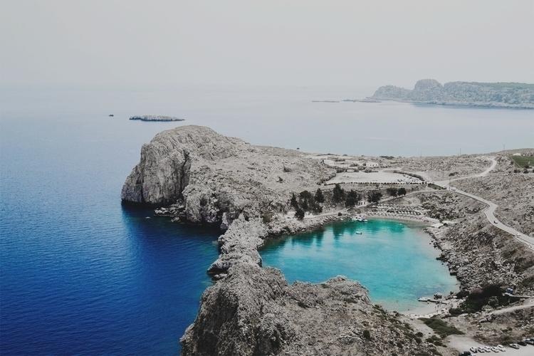 Lindos Rhodes, Greece. (unaccre - deify   ello