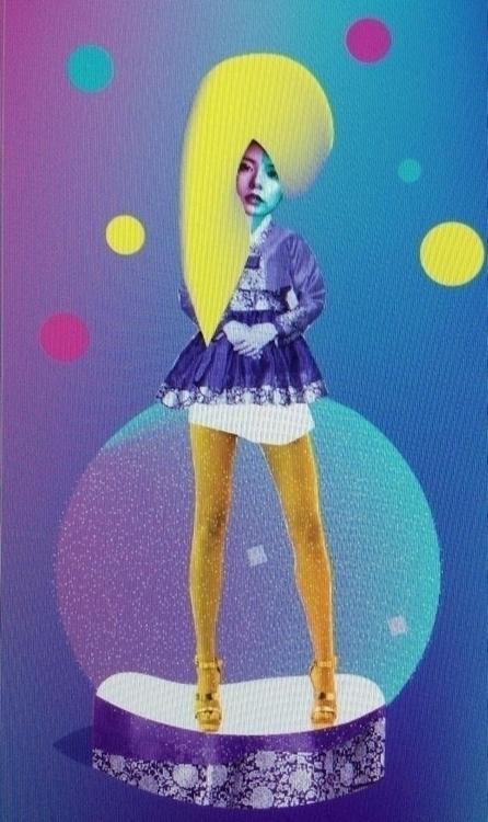 Glitch hanbok - magazineillustration - ciodesign | ello