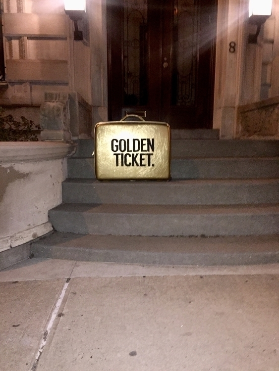 Golden Ticket - ellodesign, design - jakesmelker | ello