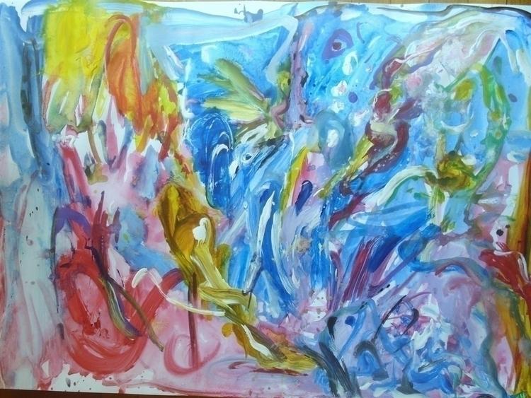 life -water - abstract, elloabstract - giannisrallis | ello