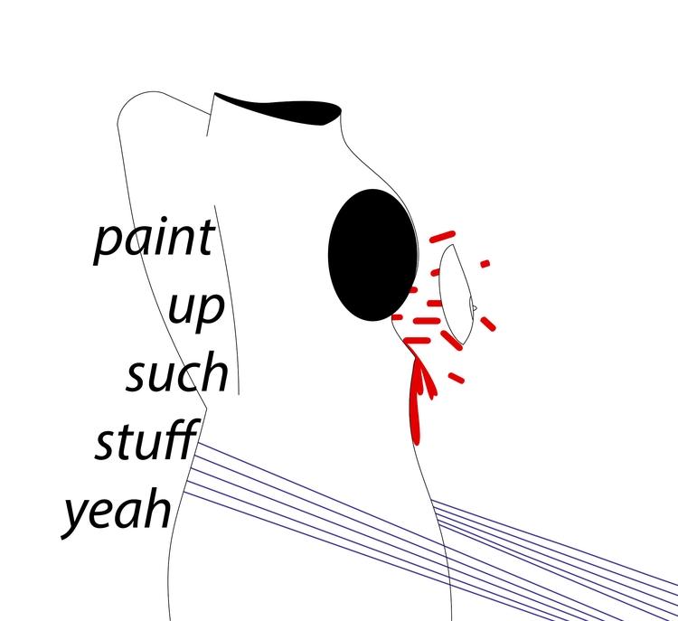 paint stuff yeah - paint#exploding#boob - annakaplan | ello