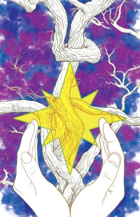 STARDUST art: &gt - Stardust, NeilGaiman - tym_stevens | ello