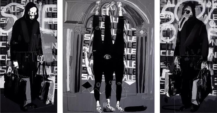 making large triptychs buy time - carpmatthew   ello