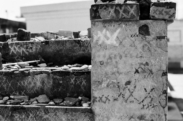 Broken Stones 4 - blackandwhite - mlmyers | ello