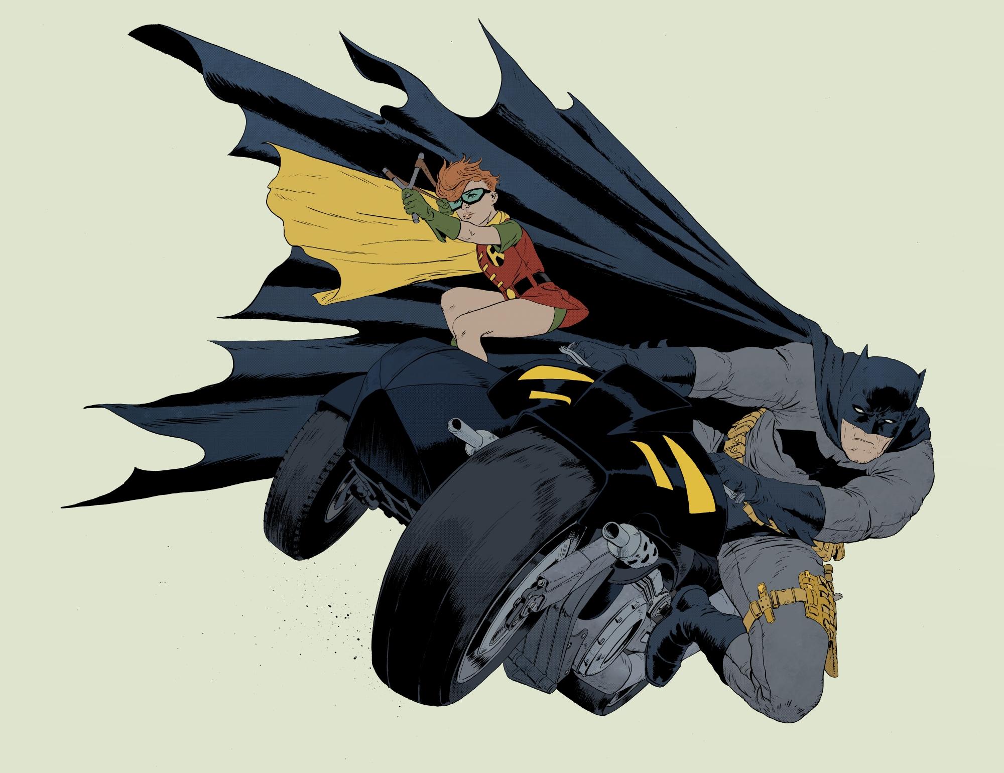 20+ years) - DKR Batman Robin - robertsammelin | ello