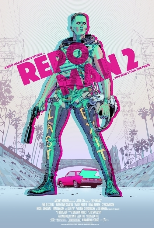 Repo Man 2 poster Sequel Show - robertsammelin | ello