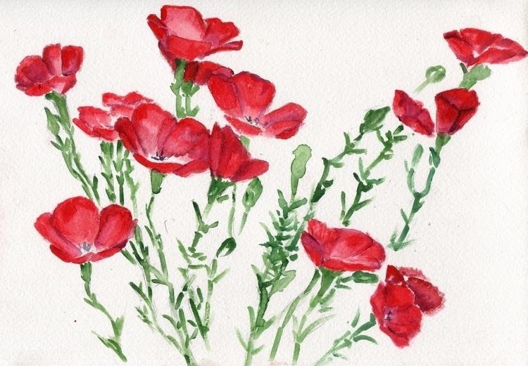 Major Rager Watercolor Cotton P - havekat | ello