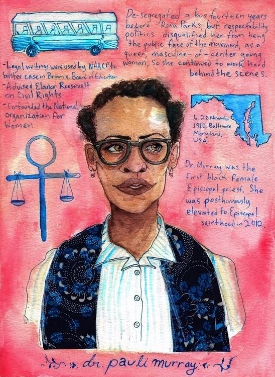 Queer Trailblazers 1/50: Dr. Pa - melpaisleyart | ello