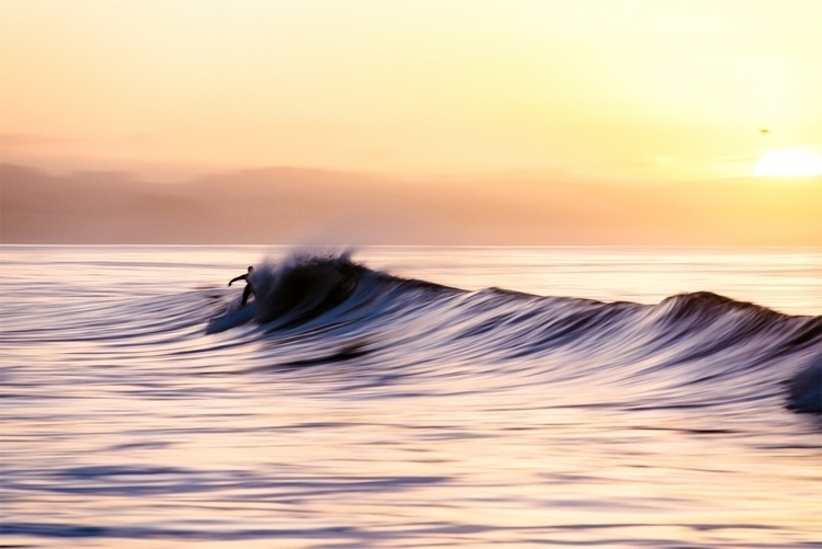 Morning Flow Santa Cruz, CA - surfphotography - neonicecream | ello