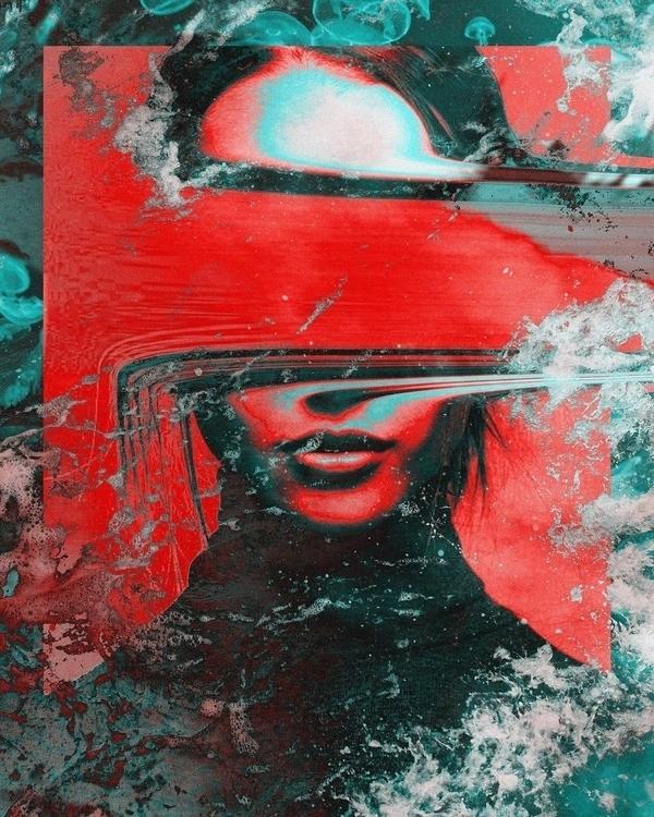 Razel - digitalart, abstract, artdaily - dorianlegret   ello
