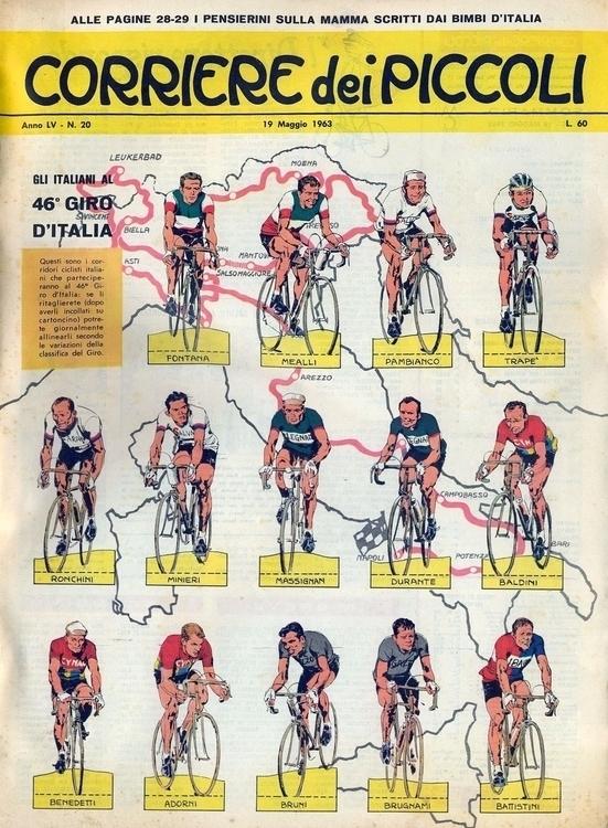 [46º Giro Tratto dal nº 20 del  - corrierino | ello