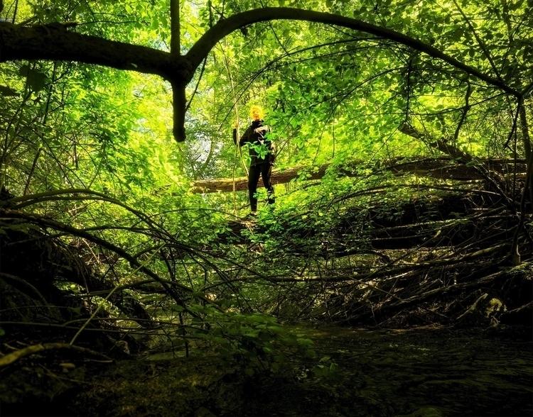 Amazon - woman, amazon, woods, ello_photography - georgijurajsalak | ello
