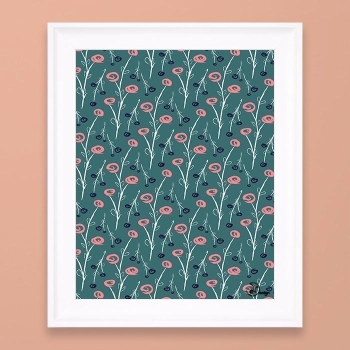 Tiny Flowers - pattern, texture - designdn | ello