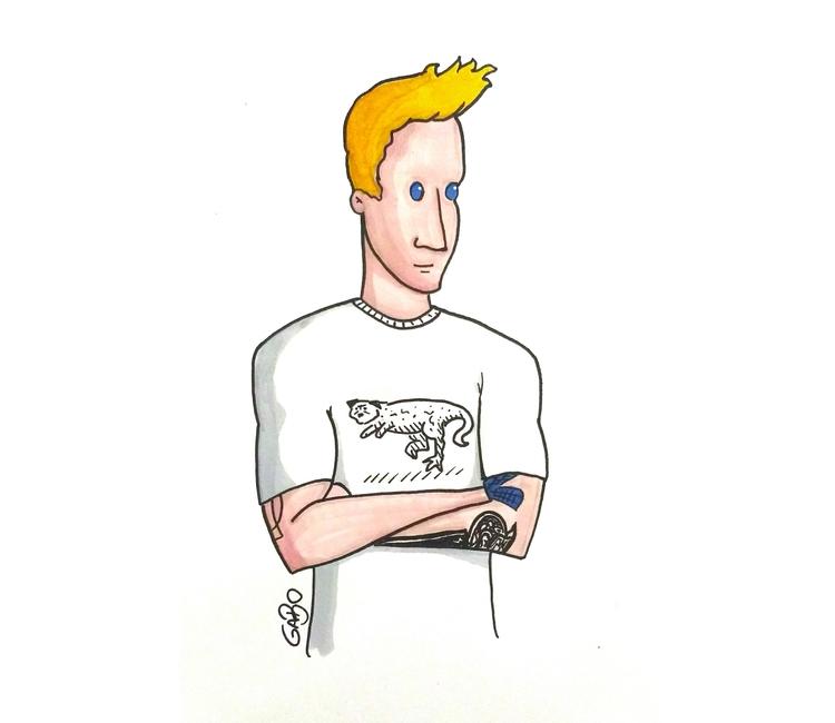 illustration, marcadores, drawing - gabo_jurgensen | ello