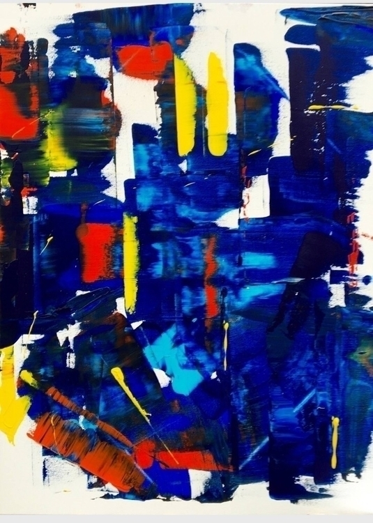 abstract, art, artwork, painting - marcovillard | ello