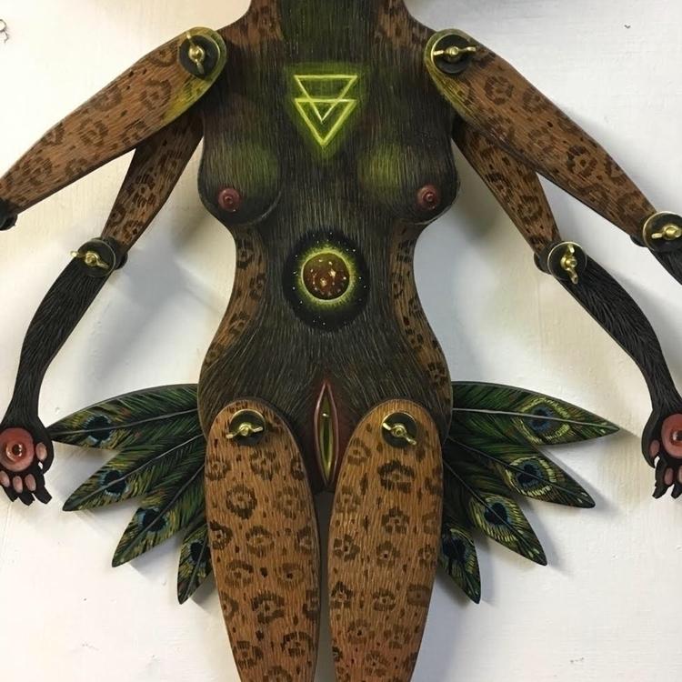 Jóhonaa'éí, detail oil cutout w - peca-art | ello