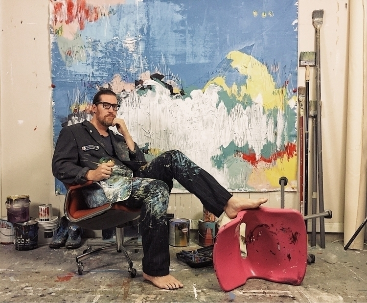 famous artist studio portrait - elloart - samo4prez | ello