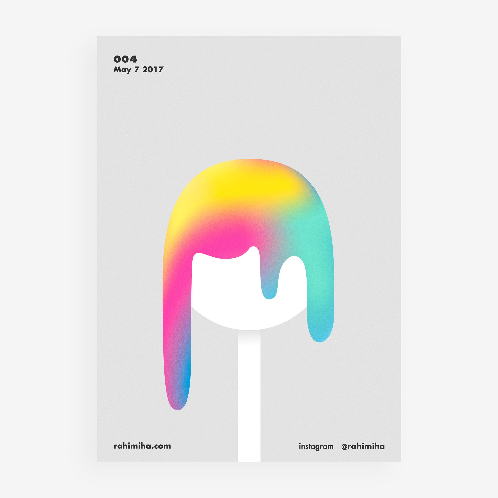 Day 004 Nima Rahimiha poster da - rahimiha | ello