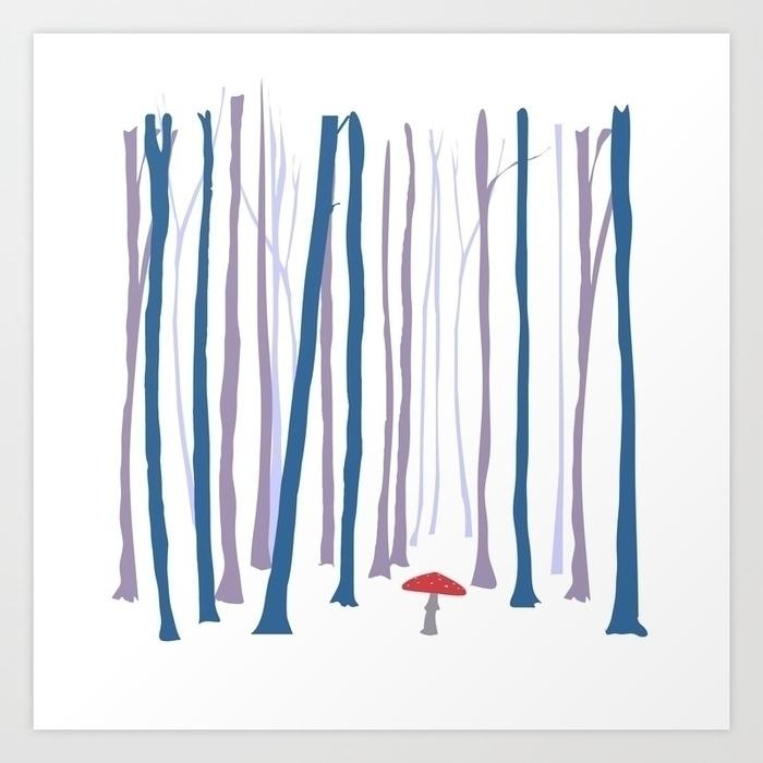 forest, mushroom, wildforest - miideegrafiche | ello