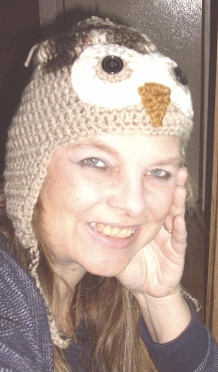 owl hat. handcrocheted - gjanney | ello