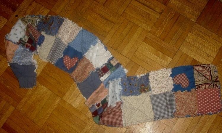 rag patchwork. comissioned piec - gjanney | ello