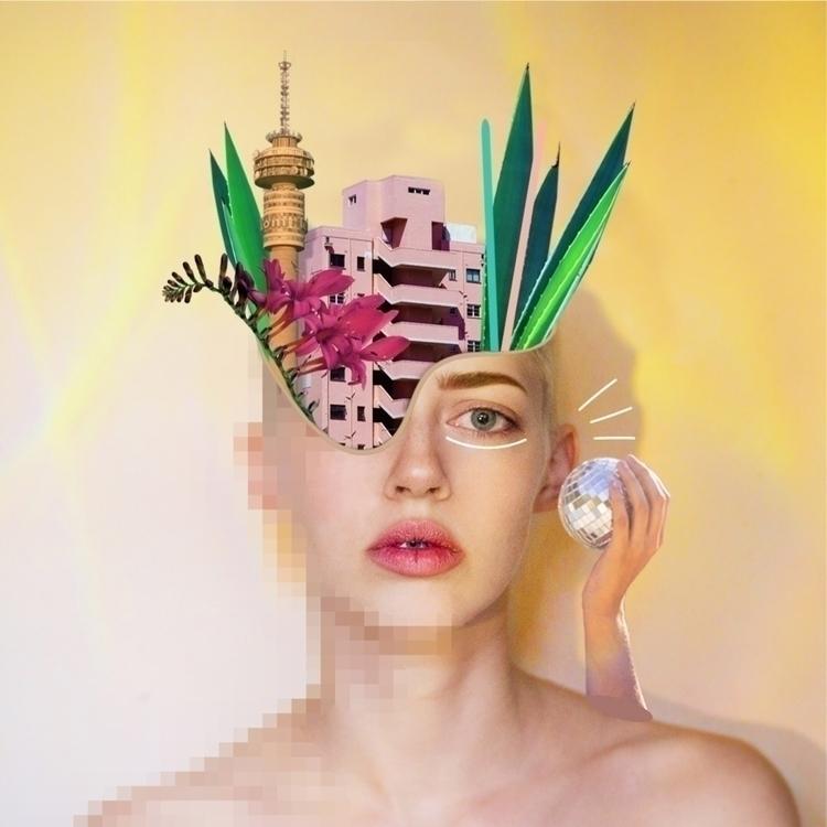 Collage Collaboration. Images N - curious_lauren   ello