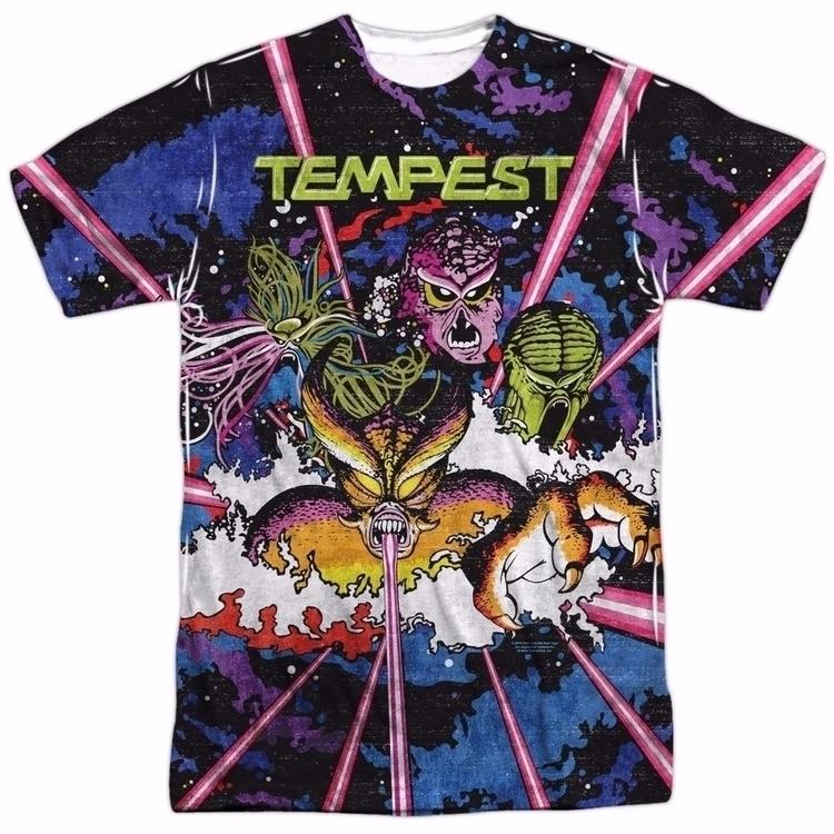 Atari Tempest Key Art - art, clothing - sfaart | ello