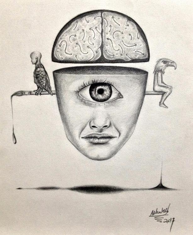 -Thoughts- surreal composition  - ashutosht82 | ello