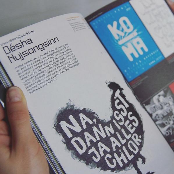 """Printed posters powerful mediu - deshalbpunkt | ello"