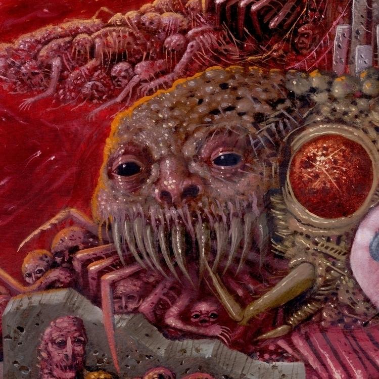 Details 'Nightmare' 24x48 oil p - curseddeath   ello