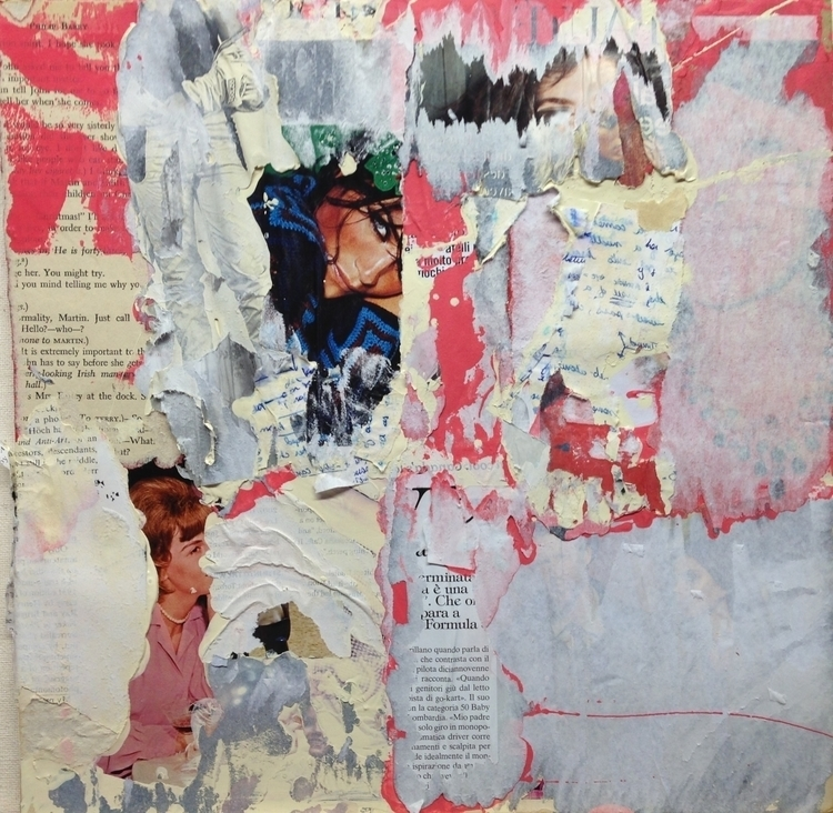 Material Memory - art, collage, color - jkalamarz | ello