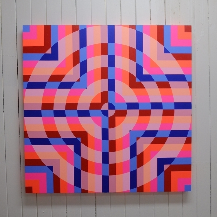 Crossing Paths, Acrylic wood pa - pablo_zamudio | ello