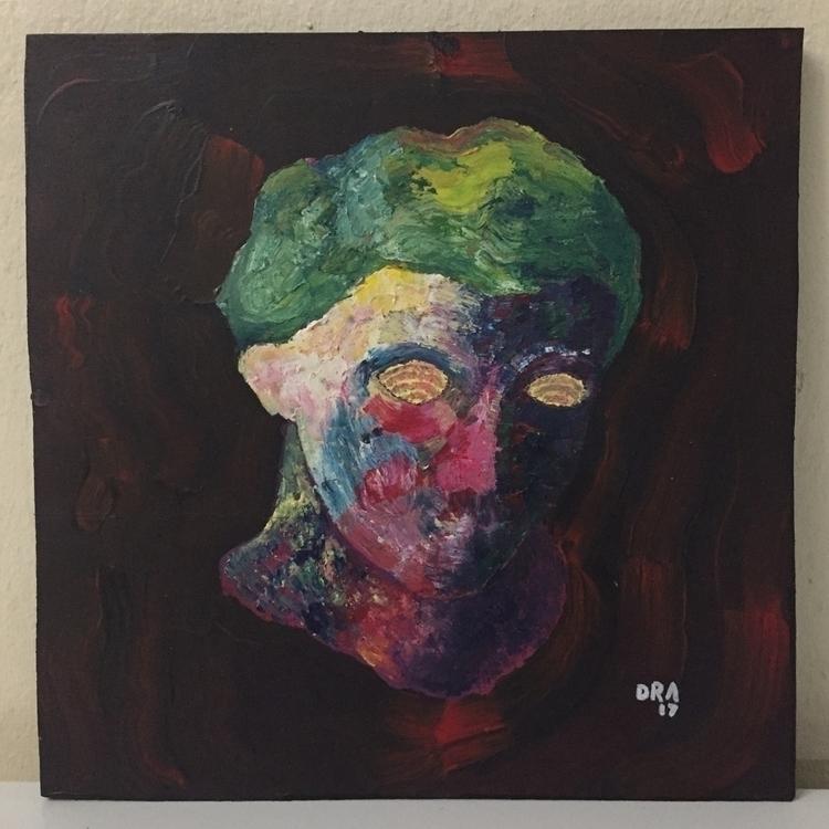 EXISTENTIAL CRISIS - painting, paint - dansuppy | ello